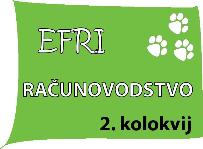 Instrukcije iz RACUNOVODSTVA - EFRI-k2